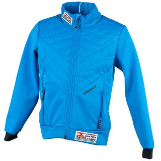 Ziener Softshell Persian Blue Kids
